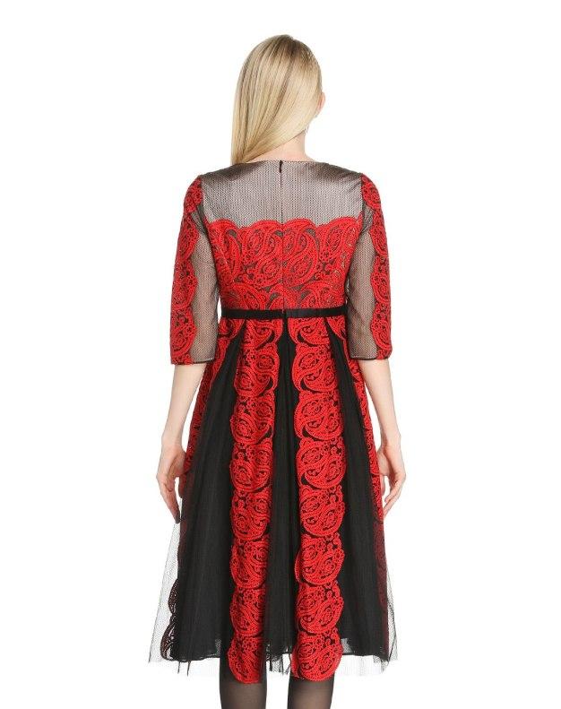 블랙 여성 드레스