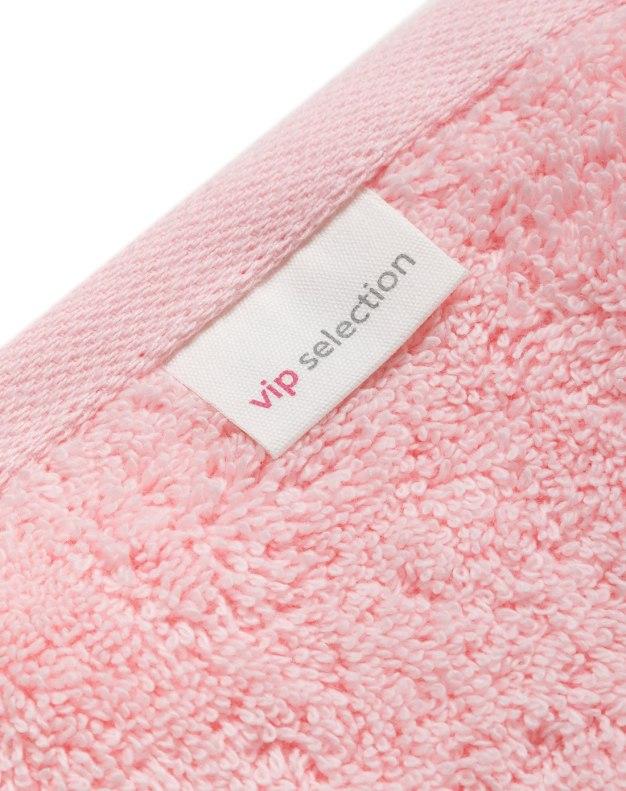Pink Long-Staple Thicken Bath Towel