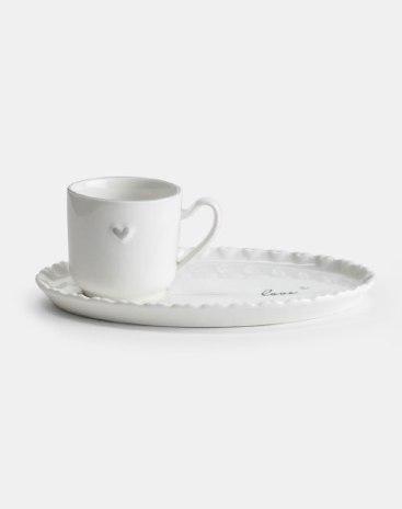 Underglaze Color 2 pieces Tableware Set Bowls & Plates
