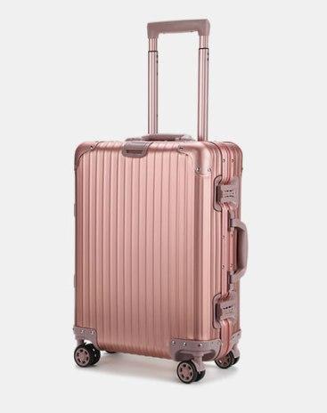 TSA락 하드 캐리어 핑크