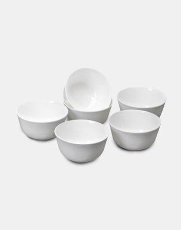 Glaze Color 6 pieces Bowl Bowls & Plates