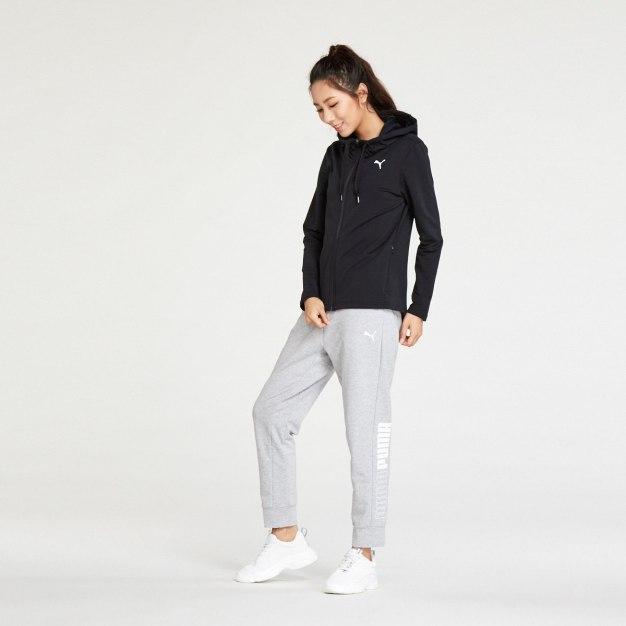 블랙 여성 운동 코트