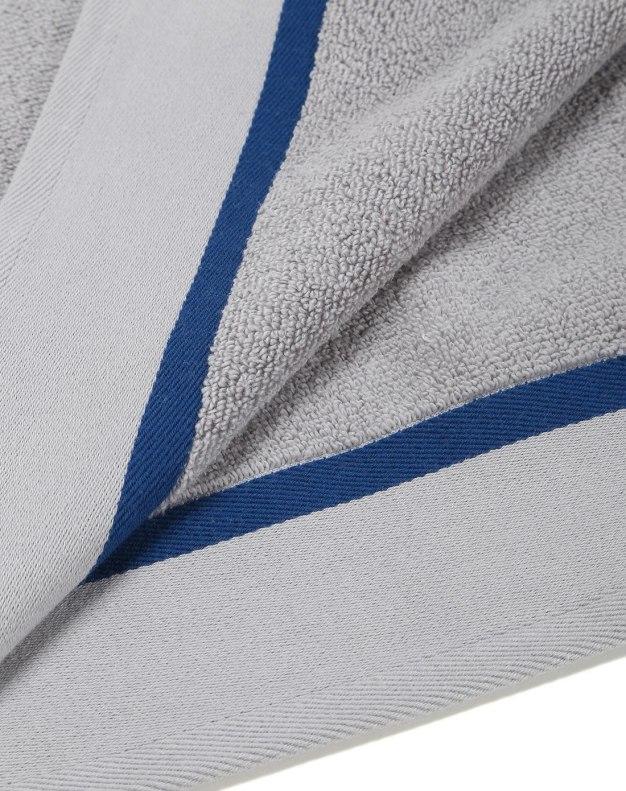 Gray Long-Staple Cotton Slight Twisting Satin Towel