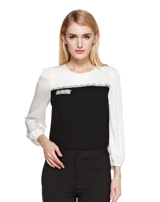 긴소매 여성 티셔츠