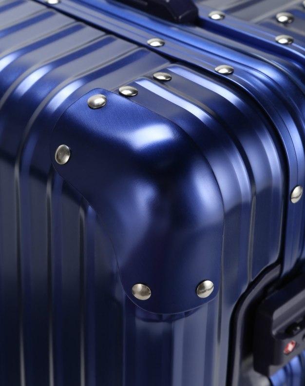 TSA락 하드 캐리어 블루