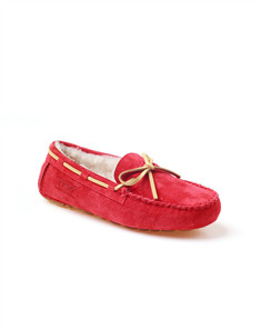 Red Flat Women's Casual Shoes