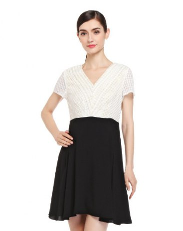 Beige Women's Dress