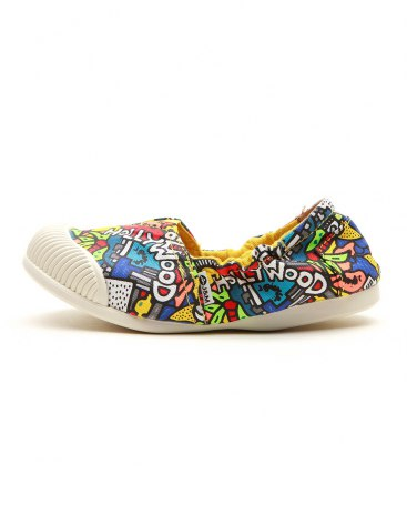 Yellow Baby's Canvas Shoes