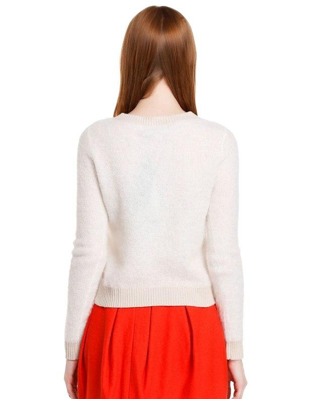Round Neck Long Sleeve Standard Women's Knitwear