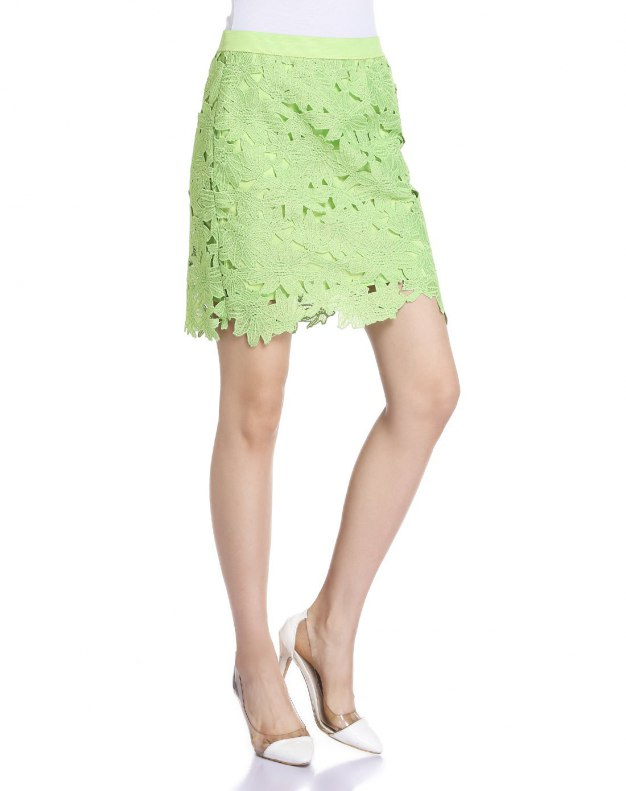 Green Women's Skirt