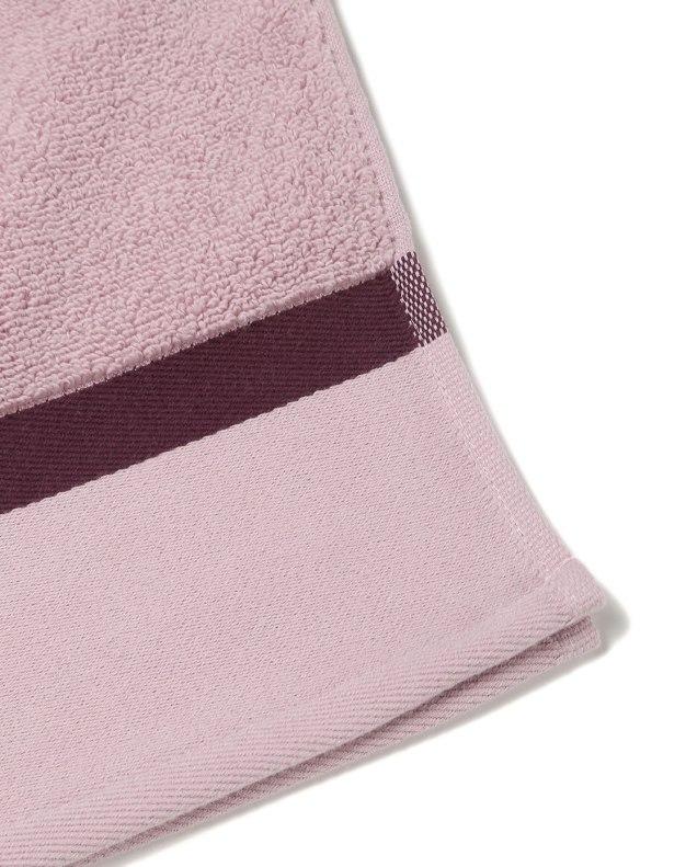 Light Purple Long-Staple Cotton Satin Bath Towel
