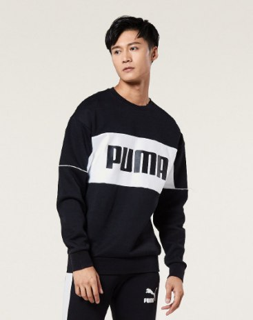 PUMA 남성 맨투맨 티셔츠
