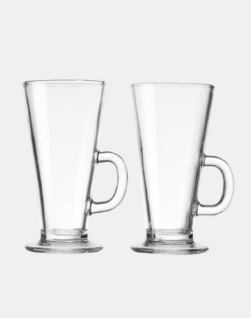 Colorless And Transparent Handle Drink Cups Tumblers