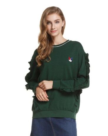 Green Women's Sweatshirt
