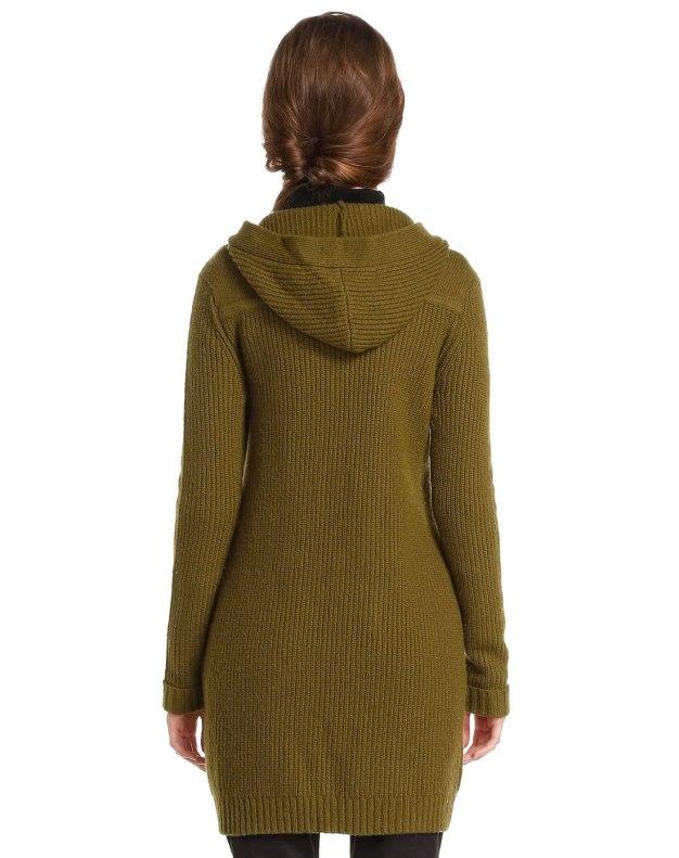 Single Breasted Long Sleeve Women's Knitwear