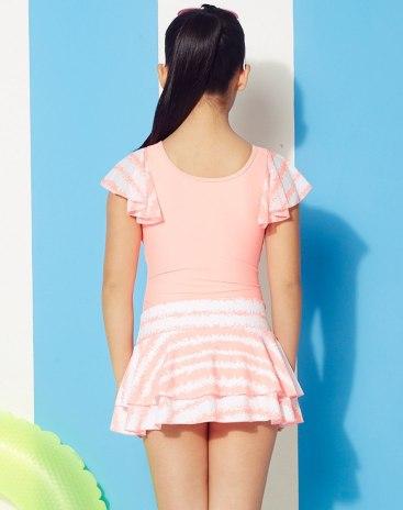 Pink Girls' Swimwear