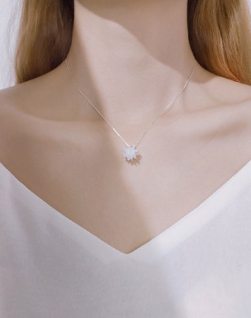 White Pendant
