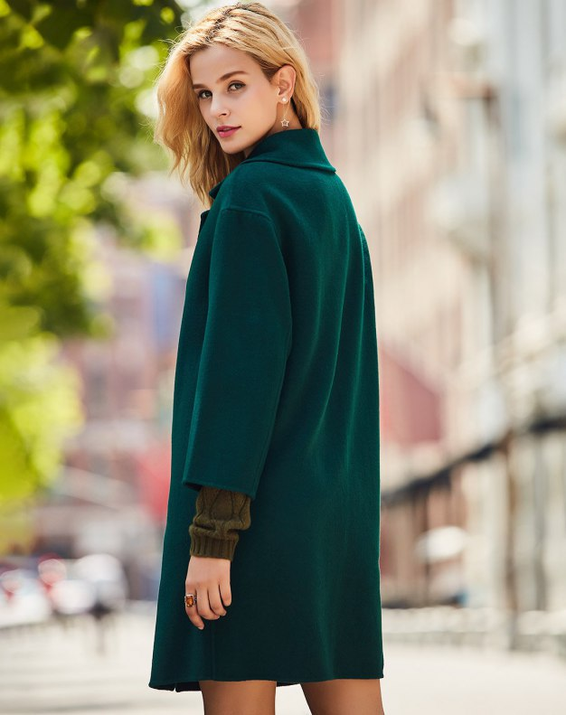 Green Women's Coat