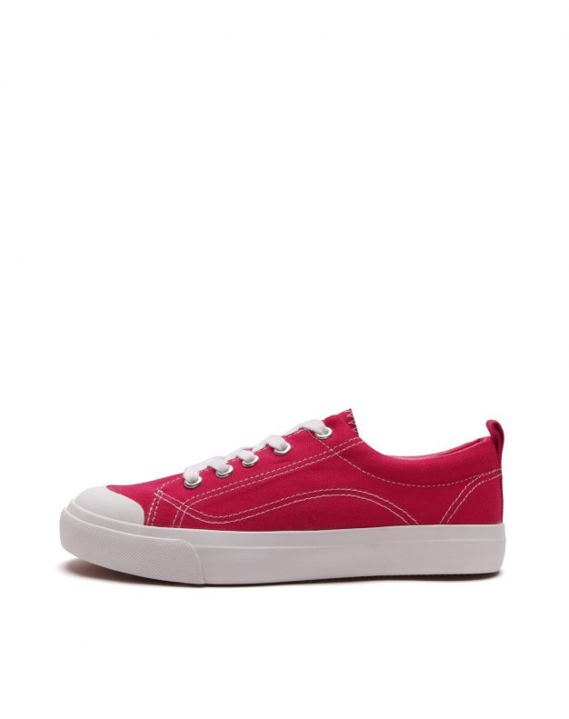 Red Round Head Anti Skidding Women's Shoes
