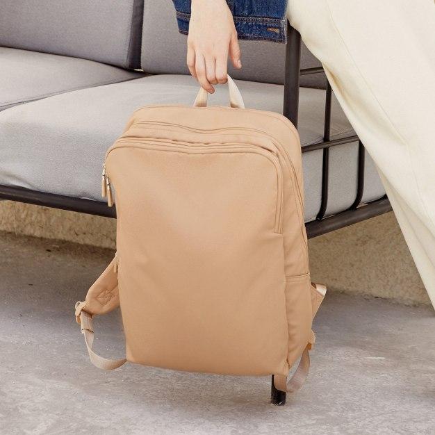 Plain Nylon Big Men's Backpack