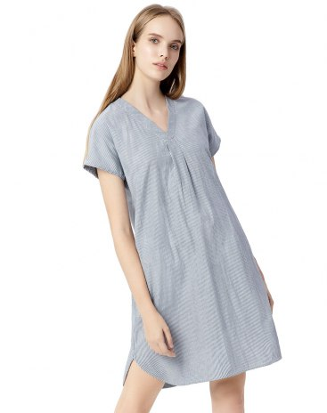 Cotton Short Sleeve Standard Women's Sleepwear