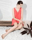 Polyester Sleeveless Standard Women's Sleepwear