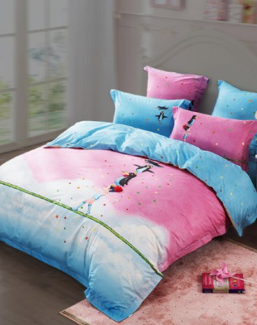 1.2m Pink Baby Bedding