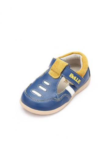 Blue Round Head Flat Baby's Casual Shoes