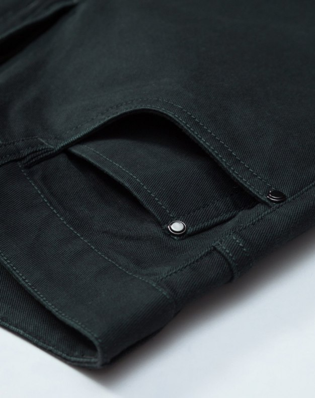 Gray Light Elastic Fitted Men's Jeans