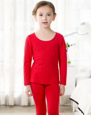 Red Girls' Lingerie