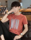 White Plain Round Neck Short Sleeve Men's T-Shirt