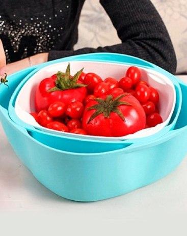 Plastic Fruit Tray Baskets