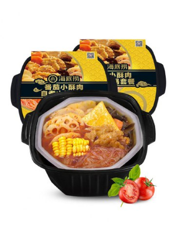 [초간단 인스턴트 훠궈] 고기튀김 토마토탕 훠궈 2 box