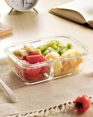 Pyrex Heat 1 level Box Lunch Boxes