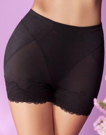 Black Abdominal Curl Women's Shapewear Pants