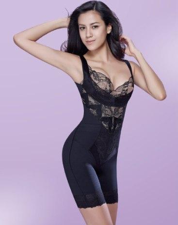 Black Breast Enhancement Women's Shapewear