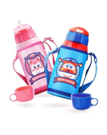 Pink 601-1000ml Straight Cup Vacuum Flasks & Thermoses