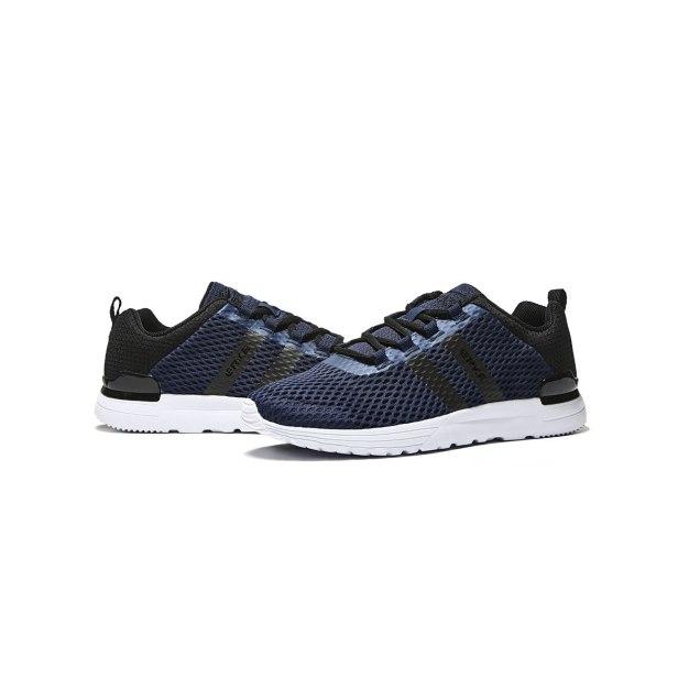 Blue Wear-Resistant Outdoor Men's Sneakers