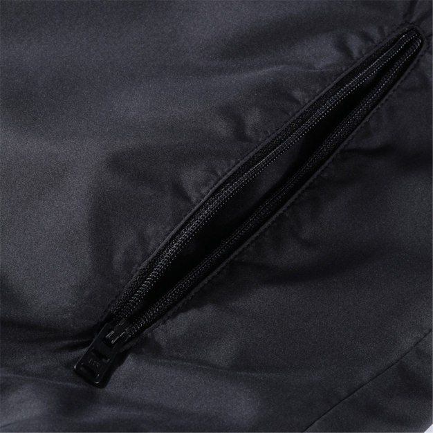 Stand Collar Long Sleeve Standard Warm Men's Jacket