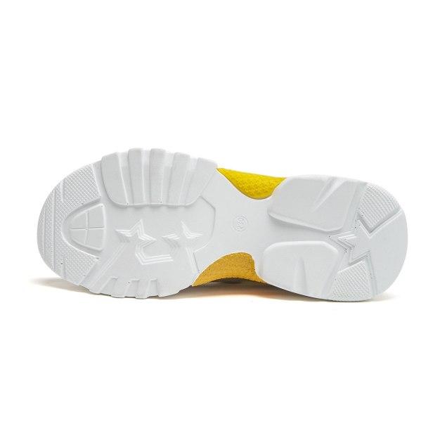 Yellow Women's Casual Shoes