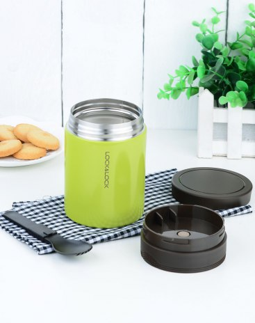 Green 400ml-600ml Vacuum Flasks & Thermoses