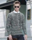 Green Long Sleeve Standard Men's Sweater