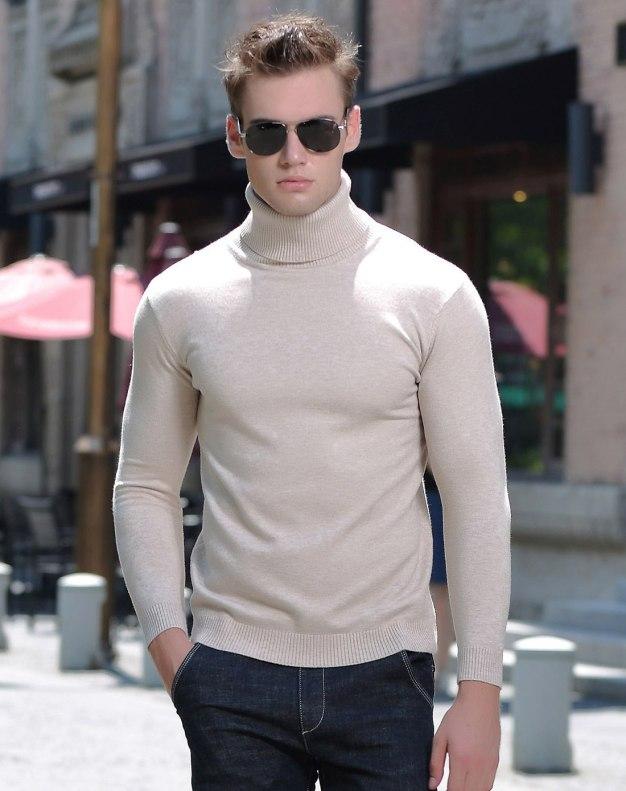 Long Sleeve Standard Men's Knitwear