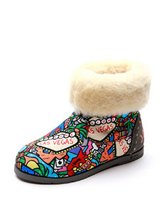 Round Head Baby's Shoes