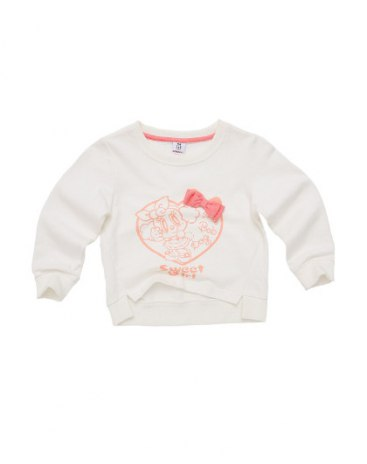 White Girls' Sweatshirt