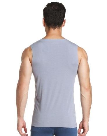 Gray Men's Vest