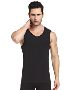 Black Men's Vest