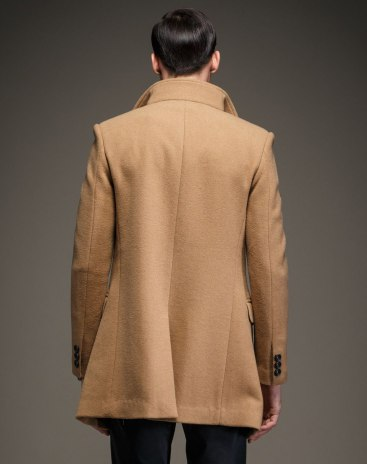 Camel Long Sleeve Men's Outerwear