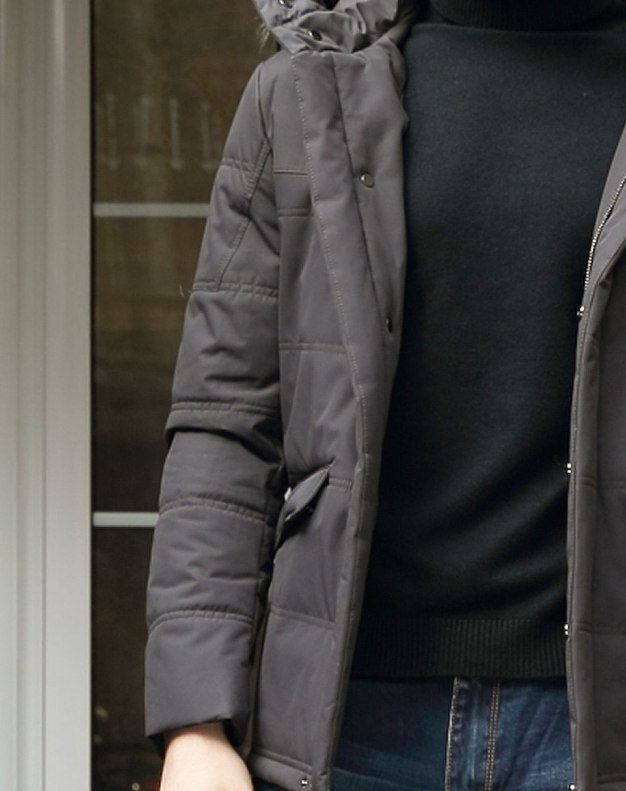 Coffee Long Sleeve Standard Men's Outerwear