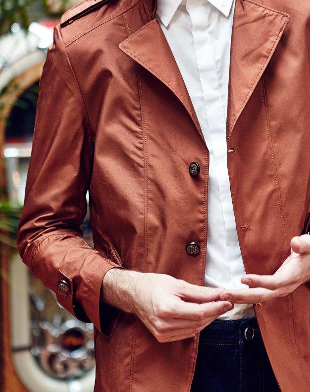 Long Sleeve Standard Men's Windbreaker